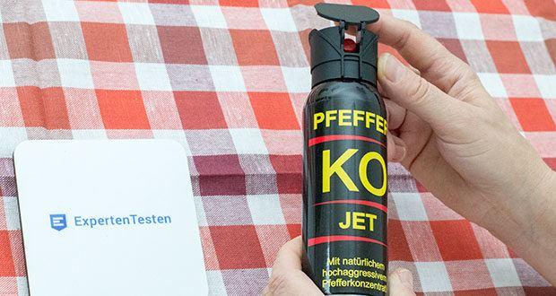 BALLISTOL KO-JET Pfefferspray im Test - ideales Tierabwehrmittel für geschlossene Räume