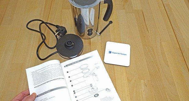 CHULUX Milchaufschaeumer im Test - einfache Bedienung und Reinigung