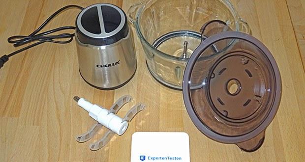 CHULUX elektrischer Zerkleinerer im Test - Leistungsstark und langlebig