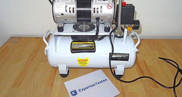 Implotex Druckluftkompressor im Test - Hochwertiges, ölfreies Aggregat (wartungsfrei) - mit Motorschutz (thermisch & elektrisch) und Anlaufentlastung