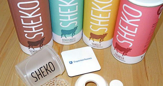SHEKO Eiweißpulver im Test - der hochwertige Mahlzeitenersatz ist unkompliziert, schmeckt klasse und passt ins Leben und zu den Aktivitäten aller ernährungsbewussten Genießer und aktiven Trendsetter