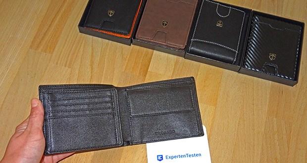 TRAVANDO Geldbeutel Männer mit Geldklammer im Test - schlanke Abmessungen