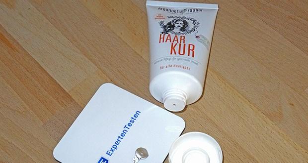 """Arganoel-Zauber Haarkur im Test - von dem unabhängigen Verbraucherportal Kosmetikanalyse mit """"SEHR GUT"""" bewertet"""