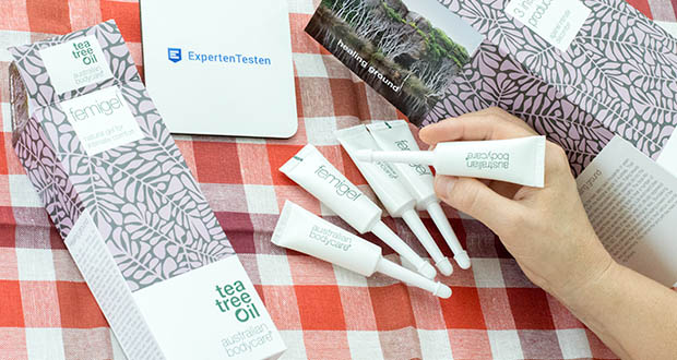 Australian Bodycare Femigel Intimpflege im Test - natural Gel mit Teebaumöl gegen Trockenheit, Juckreiz, Reizungen oder unerwünschten Geruch aus dem Intimbereich