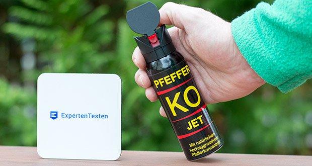 """BALLISTOL KO-JET Pfefferspray im Test - ist die stärkste """"biologische Keule"""", die unter allen Umständen wirkt"""