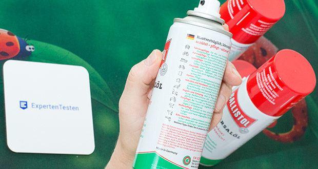 Ballistol Universalöl Waffenöl im Test - konserviert und schützt vor Rost. Naturholz wird regeneriert und erhält einen seidenmatten Schimmer, Wasserflecken verschwinden