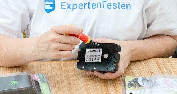 ISOTRONIC Katzenschreck im Test - der kompakte Vertreiber funktioniert batteriebetrieben und ist mobil einsetzbar