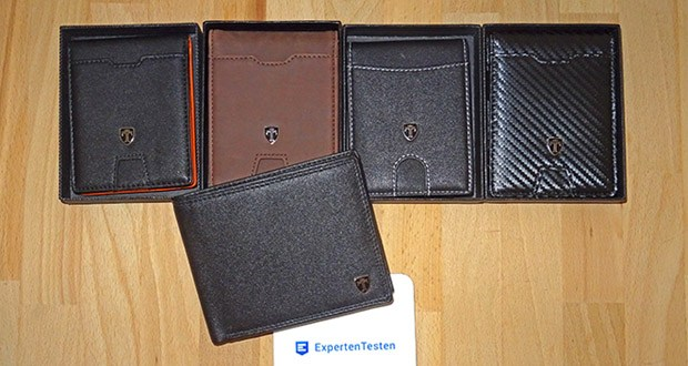 TRAVANDO Geldbeutel Männer mit Geldklammer im Test - mit RFID-Schutz für alle Karten