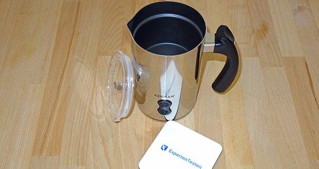 CHULUX Milchaufschaeumer im Test - Material: Edelstahl und Antihaftbeschichtung