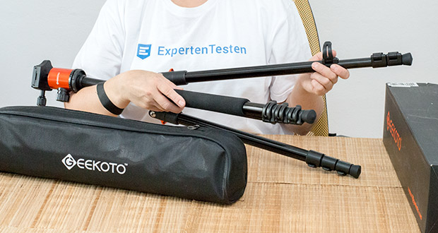 GEEKOTO Aluminum Stativ AT24Pro 200cm mit Einbeinstativ und 360° Panorama Kugelkopf im Test