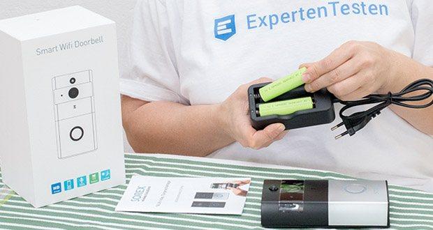 SOREX WLAN Video Türsprechanlage im Test - ist schnell und simpel montiert und das dank Batteriebetrieb an jedem beliebigen Ort
