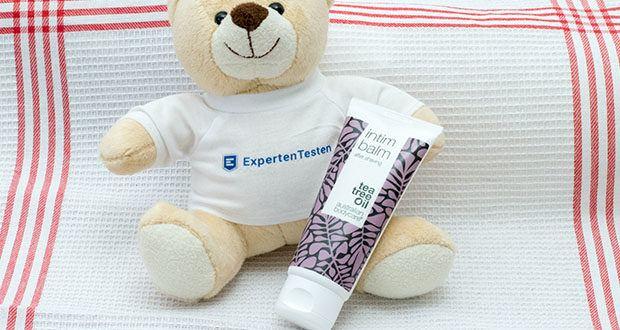 Australian Bodycare Intim Balm - After Shave Balsam im Test - der Balsam pflegt die Haut nach der Rasur