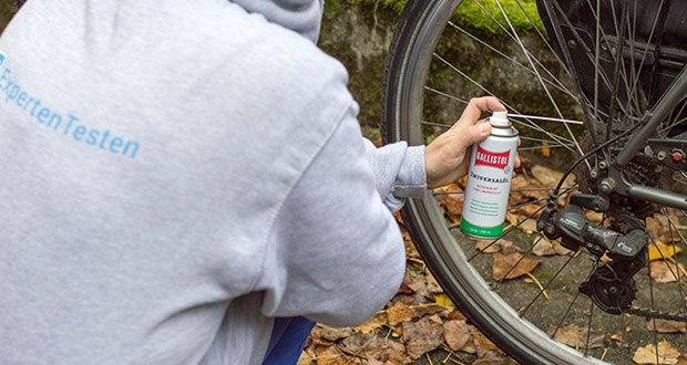 Ballistol Universalöl Waffenöl im Test - für Bowdenzüge und Federgabeln, entfernt Teerflecken