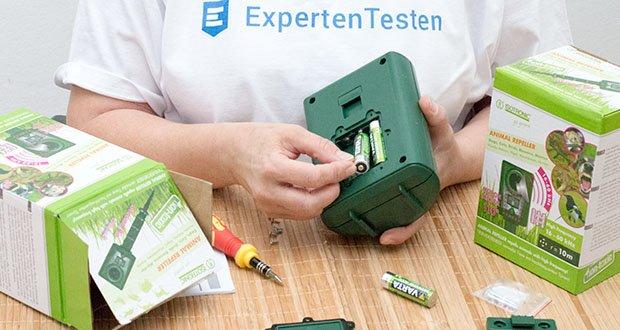 ISOTRONIC Ultraschall Marderschreck im Test - Batteriebetrieb für einen mobilen Einsatz (3 x AA, nicht enthalten)