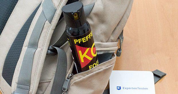 Ballistol KO-FOG Pfefferspray im Test - mit dem optimalen Inhalt von 100 ml