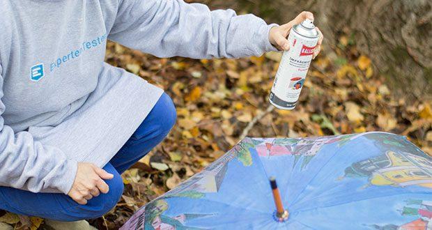 BALLISTOL Pluvonin Imprägnierspray im Test - pflegt und imprägniert alle Textilien und Wildleder auch wenn sie widrigster Witterung ausgesetzt sind