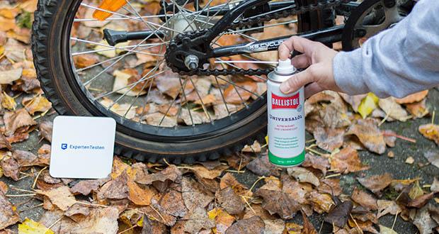 Ballistol Universalöl im Test - Fahrradpflege: Zur Kettenreinigung und Pflege. Entfernt Teerflecken