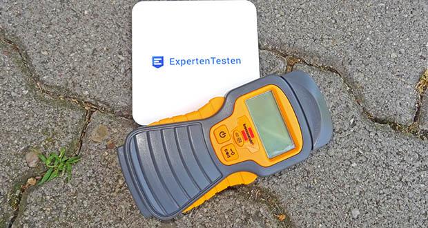 """Brennenstuhl Feuchtigkeitsmessgerät im Test - Praktische """"Hold""""-Funktion ermöglicht Messen auch an schlecht zugänglichen Stellen"""