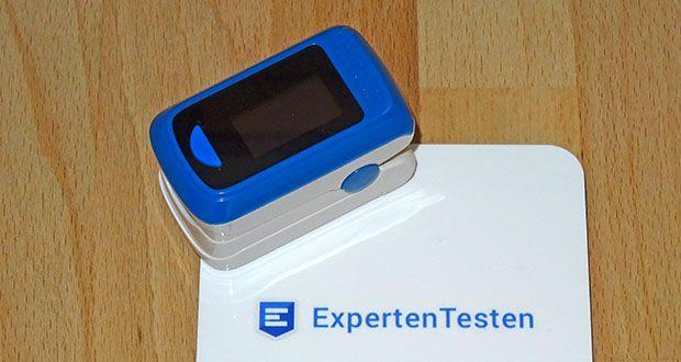 MedX5 Fingerpulsoximeter im Test - Pulsfrequenz Messbereich: 25 – 250 BPM