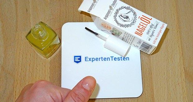 Arganoel-Zauber Nagelöl, Nagelhärter im Test - erste Sichtbare Ergebnisse in nur 7 Tagen
