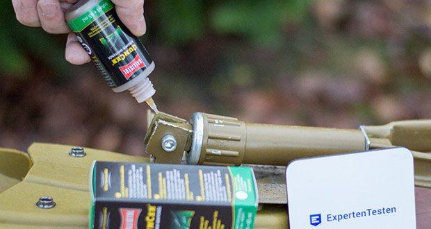 BALLISTOL GunCer Keramik-Waffenöl im Test - verharzt nicht und enthält keine Zusätze von Silikon und PTFE