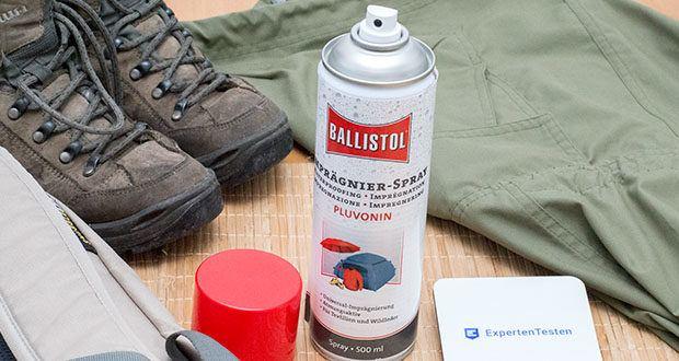 BALLISTOL Pluvonin Imprägnierspray im Test - ist ideal für Jäger, Angler und alle die beruflich oder sportlich Wind und Wetter ausgesetzt sind