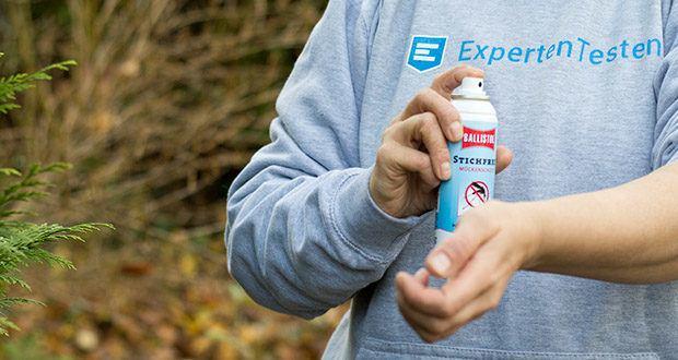 BALLISTOL Stichfrei Mückenspray im Test - erfrischend angenehmer Geruch, enthält UV-B-Filter (LSF 6)