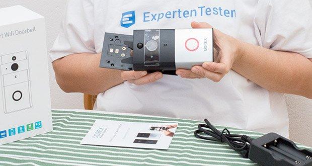 SOREX WLAN Video Türsprechanlage im Test - Sie können die SOREX WLAN Video Türsprechanlage auch als Alarmanlage mit Bewegungsmelder verwenden