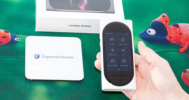 Langogo elektronischer Sprachübersetzer im Test - weitere Fähigkeiten wie z. B. Navigation, Reiseführer usw. sind in Kürze verfügbar