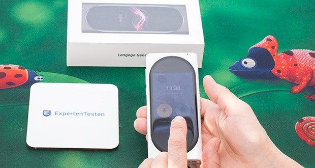 Langogo elektronischer Sprachübersetzer im Test - bietet eine einzigartige Ein-Knopf-Zwei-Wege-Übersetzungsmethode
