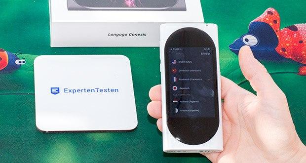 Langogo elektronischer Sprachübersetzer im Test - derzeit unterstützt er 92 Sprachen und bald werden mehr Sprachen durch Aktualisierungen zur Verfügung gestellt