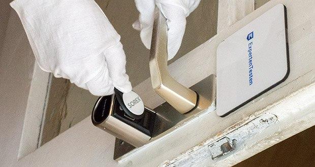 SOREX FLEX Fingerprint & RFID Türöffner im Test - keine Schlüssel nötig - ideal auch für Kinder
