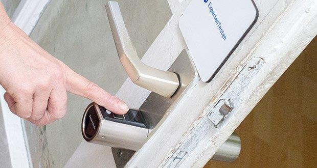 SOREX FLEX Fingerprint & RFID Türöffner im Test