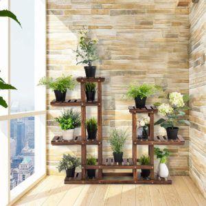 Das hochwertige Holz Blumenregal von Costway im Test und Vergleich