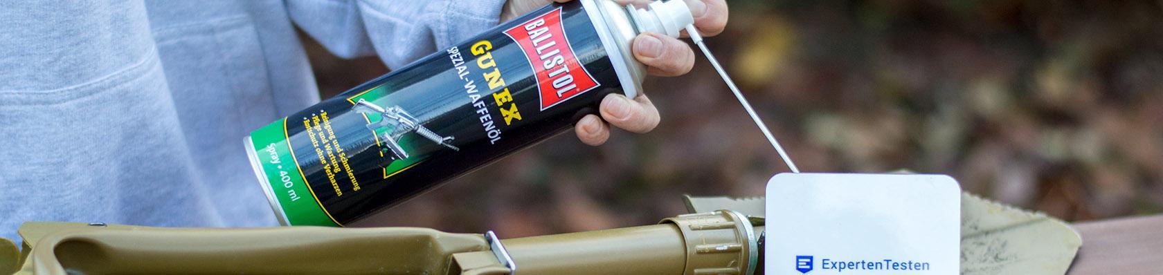 Waffenöle im Test auf ExpertenTesten.de