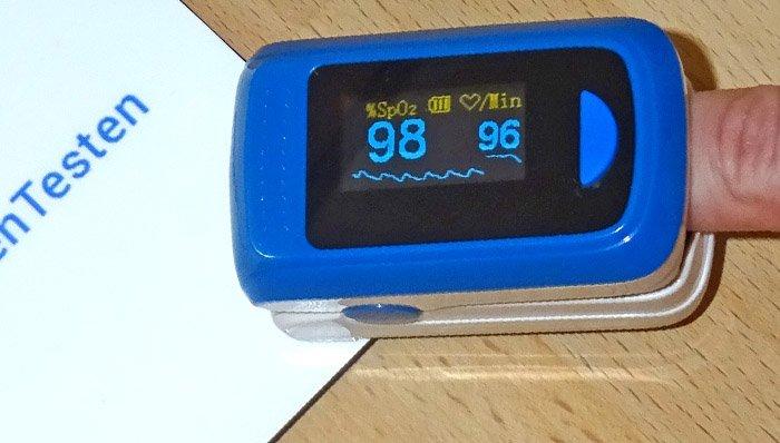 Pulsoximeter im Test auf ExpertenTesten.de