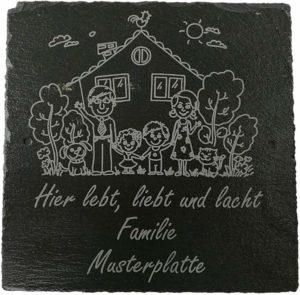 Wie viel Euro kostet eine Türschilder Familie Testsieger im Online Shop?