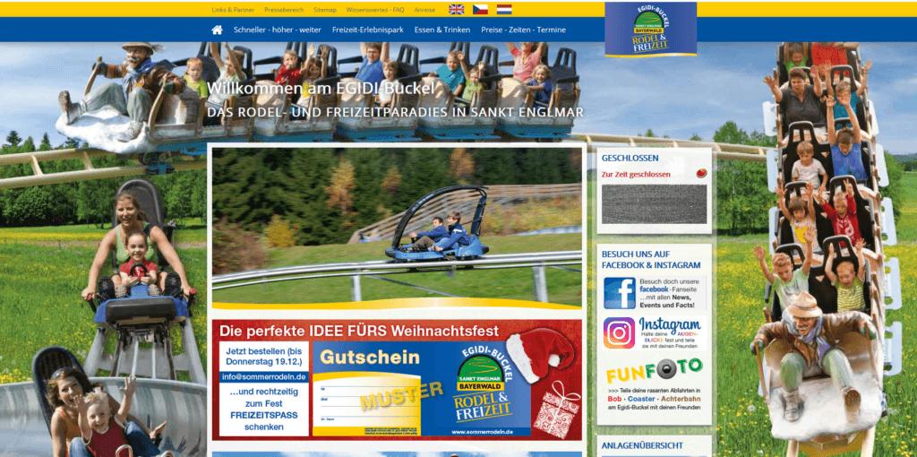 screenshot Rodel- und Freizeitpark St. Englmar