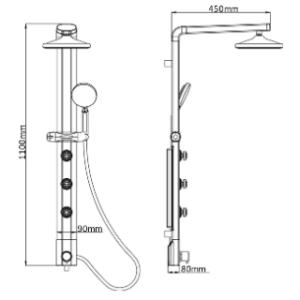 Wissenswertes über Duschpaneel Eckmontage im Test und Vergleich
