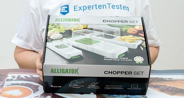 Alligator Chopper Set 3-in-1 im Test - die Garantie liegt bei 2 Jahren