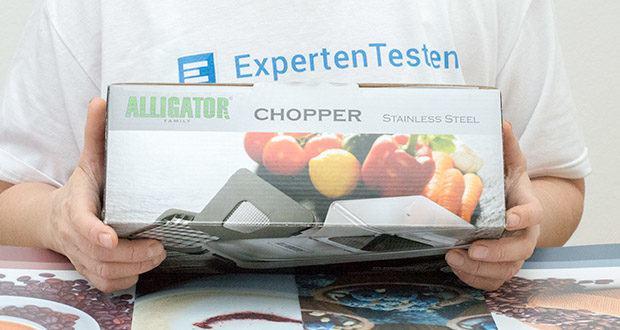Alligator Stainless Steel Chopper im Test - die Garantie liegt bei 2 Jahren