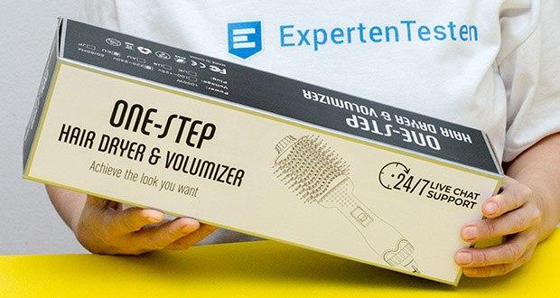 Aokebeey Multifunktions Warmluftbürste im Test - 3 Wärmestufen von 120 ℃ -200 ℃ für unterschiedliche Frisuren einstellbar