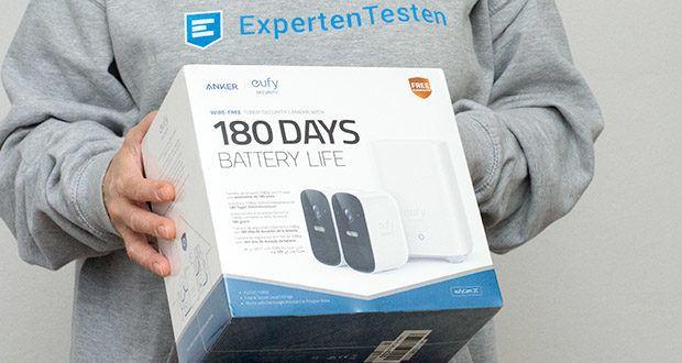 eufy Security eufyCam 2C by Anker im Test - benötigt 180 Tage lang nicht einmal ein Ladekabel