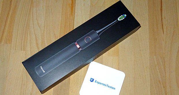 Fairywill Elektrische Zahnbürste im Test - eine elektrische Zahnbürste, die Sie beliebig zu Hause oder auf Reisen verwenden können