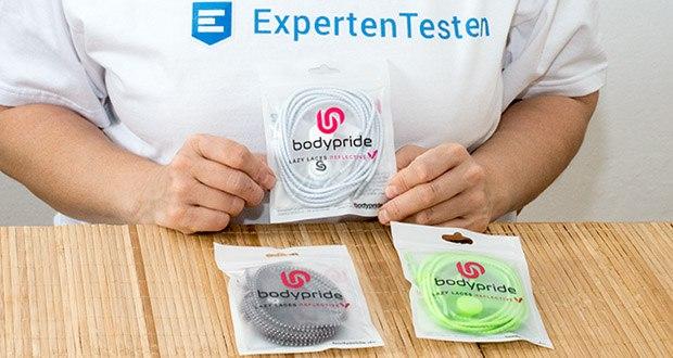 BODYPRIDE Premium Schnürsenkel mit Schnellverschluss im Test - vielseitiger Einsatz und Deutsches Design