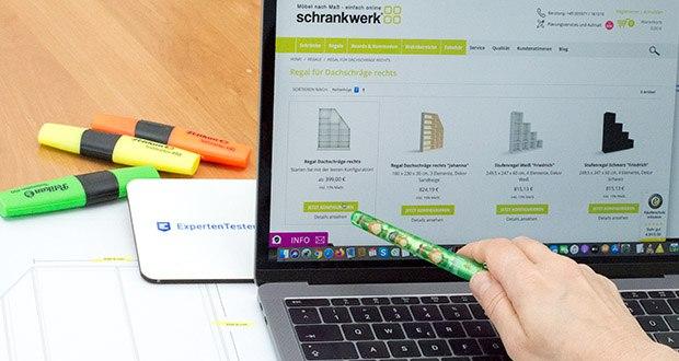 schrankwerk.de online Kleiderschrank Konfigurator im Test - ganz gemütlich am heimischen Rechner mit dem Online-Konfigurator wurde der Schrank geplant