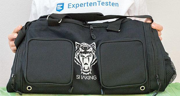 "Sporttasche King Classic im Test - Maße: 45x30x30 cm / Material: ""Cordura"" 1000D Polyester"