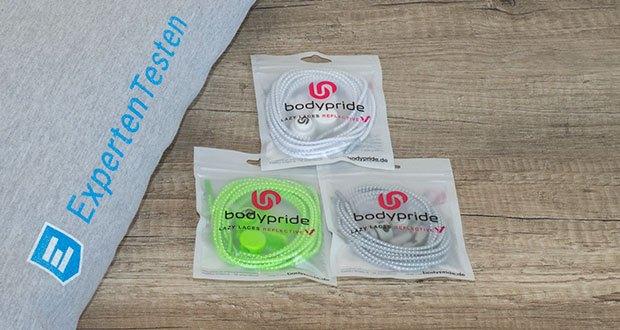 BODYPRIDE Premium Schnürsenkel mit Schnellverschluss im Test - in 12 frischen Farben erhältlich