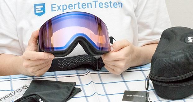 MessyWeekend Unit Skibrille mit photochromer XEp Linse im Test