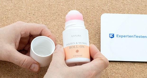 SAPURA Faszien Wärmecreme Roll On im Test - effektiv gegen Muskelschmerzen und Verspannungen